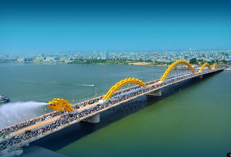 Dragon Bridge in Danang - amigogroup.vn